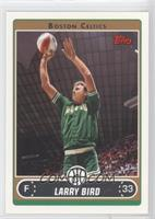 Larry Bird (Green Warmup Shooting Money Ball above Head)