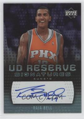 2006-07 UD Reserve Signatures [Autographed] #RA-BE - Raja Bell