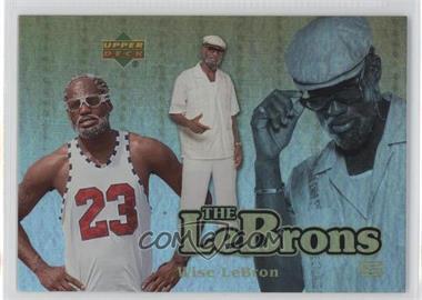 2006-07 UD Reserve The Lebrons Gold #LBJ-9 - Lebron James