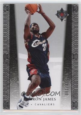 2006-07 Ultimate Collection - [Base] #22 - Lebron James /499