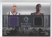 Mike Bibby, Quincy Douby /75