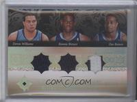 Deron Williams, Ronnie Brewer, Dee Brown /10