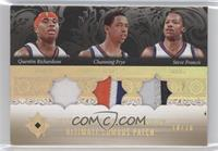 Quentin Richardson, Channing Frye, Steve Francis /10