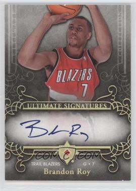 2006-07 Ultimate Collection Ultimate Signatures [Autographed] #US-BR - Brandon Roy