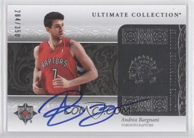2006-07 Ultimate Collection #182 - Andrea Bargnani /350