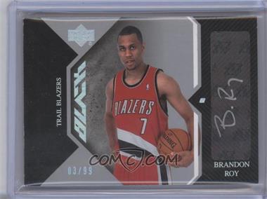 2006-07 Upper Deck Black - Auto Rookies #AR-BR - Brandon Roy /99