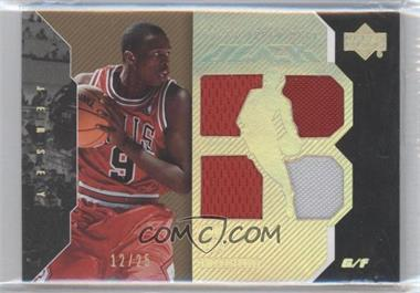 2006-07 Upper Deck Black - [Base] - Gold #18 - Luol Deng /25