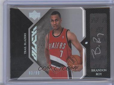 2006-07 Upper Deck Black Auto Rookies #AR-BR - Brandon Roy /99
