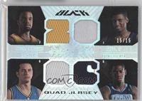 Shelden Williams, Rudy Gay, J.J. Redick, Ronnie Brewer /15