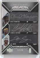 David Thompson, Carmelo Anthony, J.R. Smith /15
