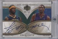 Jermaine O'Neal, Kobe Bryant /10