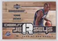 Ronnie Brewer /199