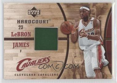 2006-07 Upper Deck Hardcourt Game Flooer #GF-24 - Lebron James