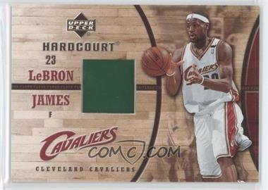 2006-07 Upper Deck Hardcourt Game Floor #GF-24 - Lebron James