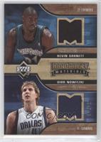 Kevin Garnett, Dirk Nowitzki /50