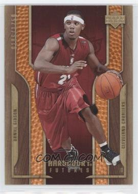 2006-07 Upper Deck Hardcourt #126 - Daniel Gibson /1750