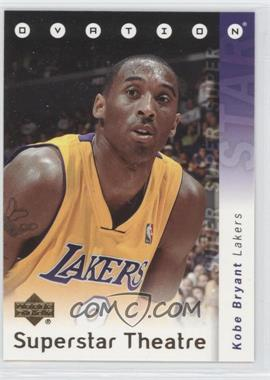 2006-07 Upper Deck Ovation Superstar Theatre #ST-KB - Kobe Bryant