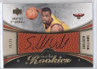 2006-07 Upper Deck Sweet Shot Gold #129 - Shelden Williams /25