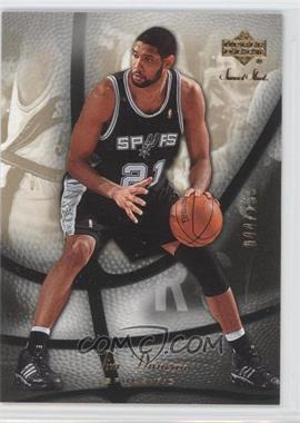 2006-07 Upper Deck Sweet Shot Gold #76 - Tim Duncan /199