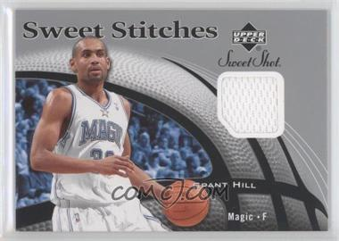2006-07 Upper Deck Sweet Shot Sweet Stitches Memorabilia #SS-GH - Grant Hill