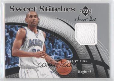 2006-07 Upper Deck Sweet Shot Sweet Stitches Memorabilia #SS-GH - Grant Hill