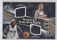 Dirk Nowitzki, Josh Howard /25