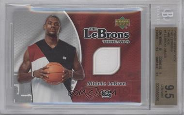 2006-07 Upper Deck The Lebrons Threads #LM-1 - Lebron James [BGS 9.5]