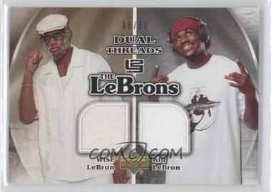 2006-07 Upper Deck The Lebrons Threads #LM-7 - Lebron James /50