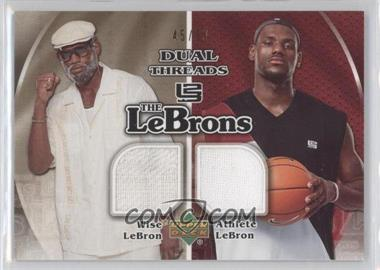 2006-07 Upper Deck The Lebrons Threads #LM-9 - Lebron James /50