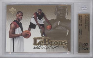2006-07 Upper Deck The Lebrons #LBJ-2 - Lebron James [BGS 9.5]
