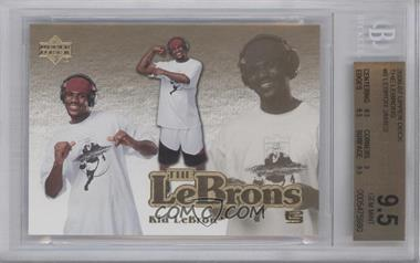 2006-07 Upper Deck The Lebrons #LBJ-6 - Lebron James [BGS 9.5]
