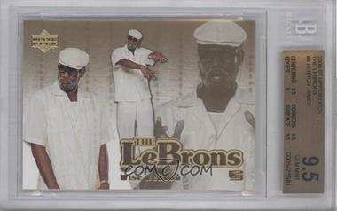 2006-07 Upper Deck The Lebrons #LBJ-8 - Lebron James [BGS 9.5]