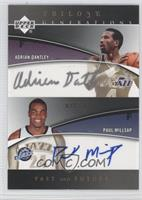 Adrian Dantley, Paul Millsap /33