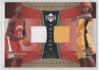Marvin Williams, Shelden Williams /50