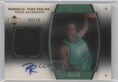 2006-07 Upper Deck Trilogy Gold #100 - Rajon Rondo /10