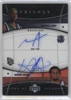 Maurice Ager, Hassan Adams /33