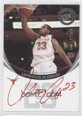 2006 Press Pass Autographs [???] Silver [Autographed] #N/A - LaMarcus Aldridge