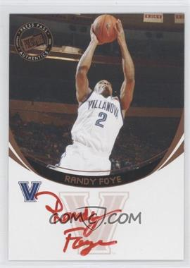 2006 Press Pass Autographs Bronze [Autographed] #RAFO.2 - Randy Foye (Red Ink)