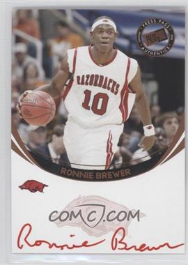 2006 Press Pass Autographs Bronze Red Ink #ROBR.2 - Ronnie Brewer (Red Ink)