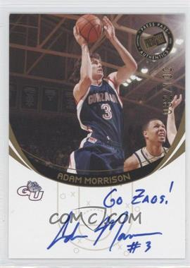 2006 Press Pass Autographs Gold Inscriptions #ADMO - Adam Morrison /100