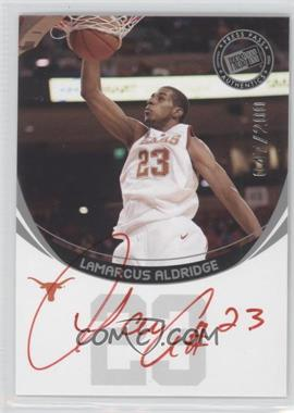 2006 Press Pass Autographs Silver Red Ink #LAAL - LaMarcus Aldridge /200