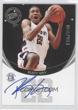 2006 Press Pass Autographs Silver #116RUGA - Rudy Gay /200