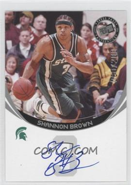2006 Press Pass Autographs Silver #SHBR - Shannon Brown /200