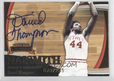 2006 Press Pass Legends Naismith Award Winners [???] Autographs [Autographed] #N/A - [Missing] /285