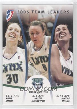 2006 Rittenhouse WNBA 2005 Team Leaders #TL7 - Katie Smith, Kristi Harrower, Nicole Ohlde