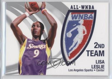 2006 Rittenhouse WNBA All-WNBA Official Patch #P9 - Lisa Leslie /250