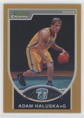 2007-08 Bowman Draft Picks & Stars Chrome Gold Refractor #142 - Adam Harrington /99