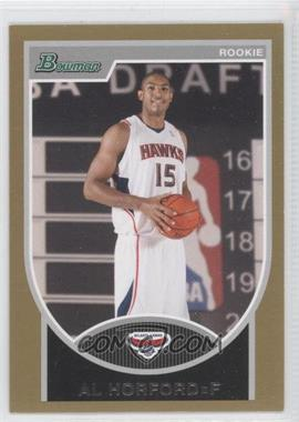 2007-08 Bowman Draft Picks & Stars Gold #112 - Al Horford /99