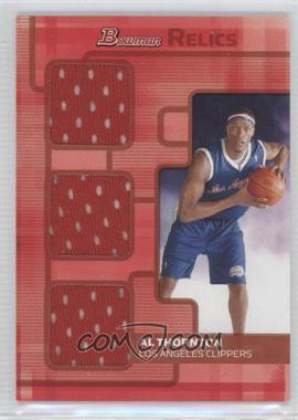2007-08 Bowman Draft Picks & Stars Hobby Relics Triple Gold #BR-AT - Al Thornton /1