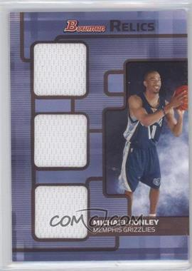 2007-08 Bowman Draft Picks & Stars Relics Triple Bronze #BR-MC - Mike Conley /50